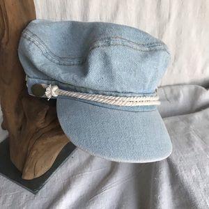 Light blue, denim hat